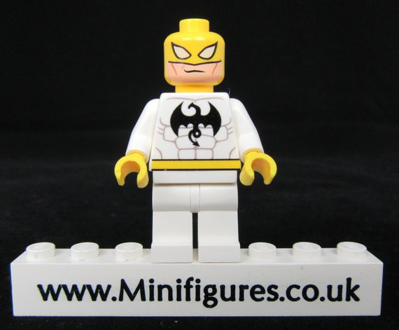 Iron Fist White LeYiLeBrick Custom Minifigure