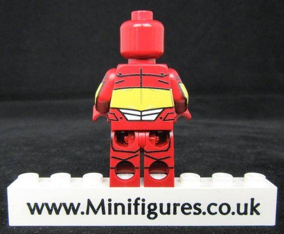 Iron Man Iron Force LeYiLeBrick Custom Minifigure