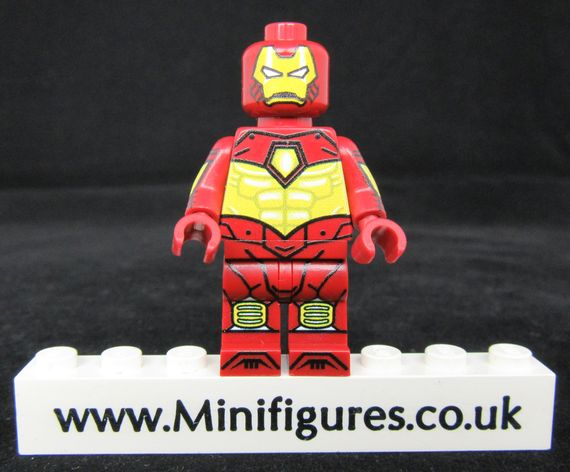 Iron Man Iron Force LeYiLeBrick Custom Minifigure