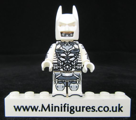 Batman Beyond White Dragon Brick Custom Minifigure