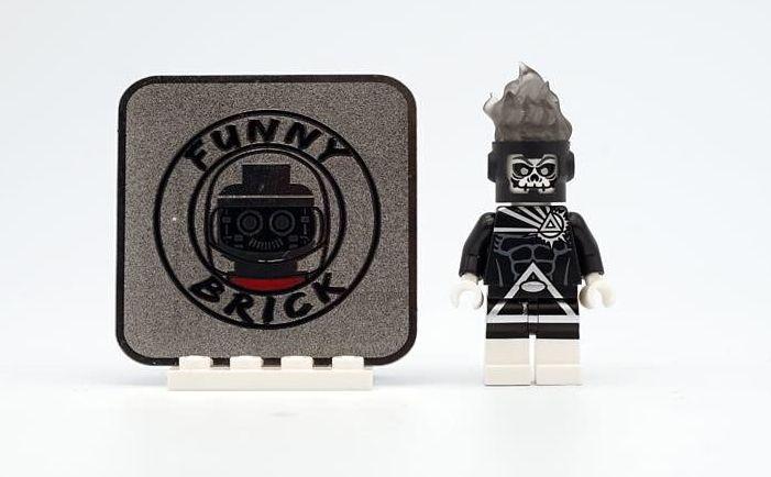 Black Lantern Firestorm Funny Brick Custom Minifigure