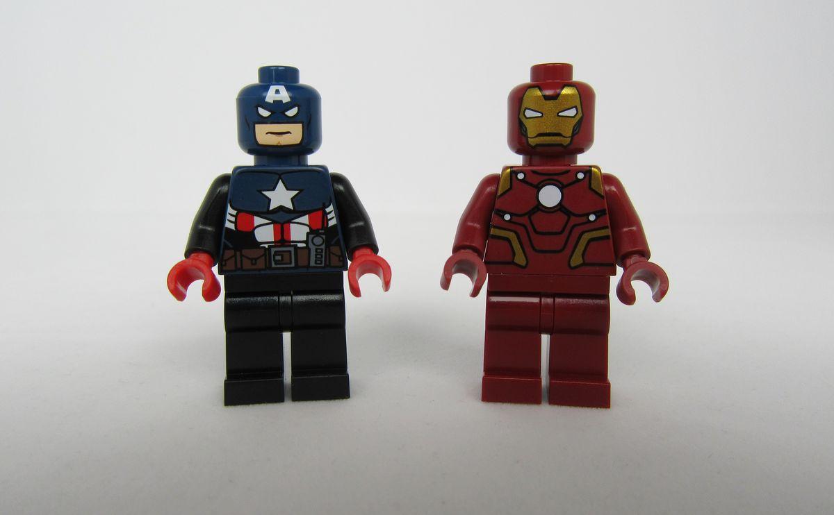 LeYiLeBrick Iron Man Custom Minifigure