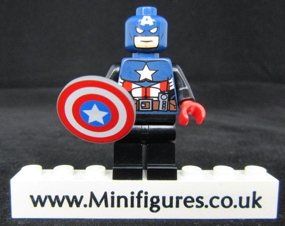 Captain America LeYiLeBrick Custom Minifigure