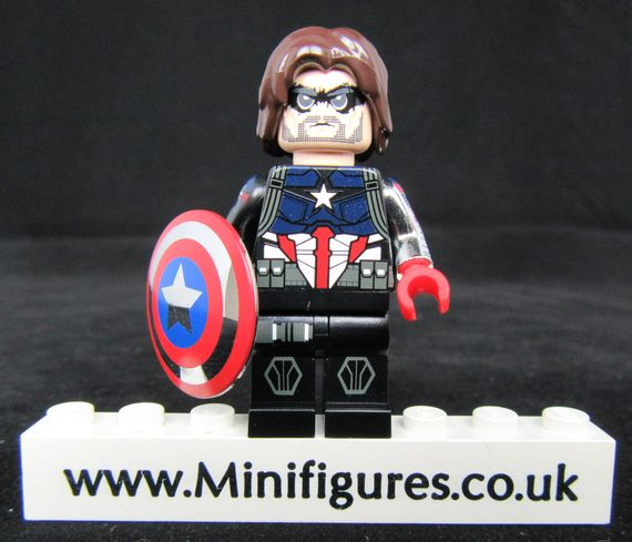 Captain Bucky Crosscheck Custom Minifigure