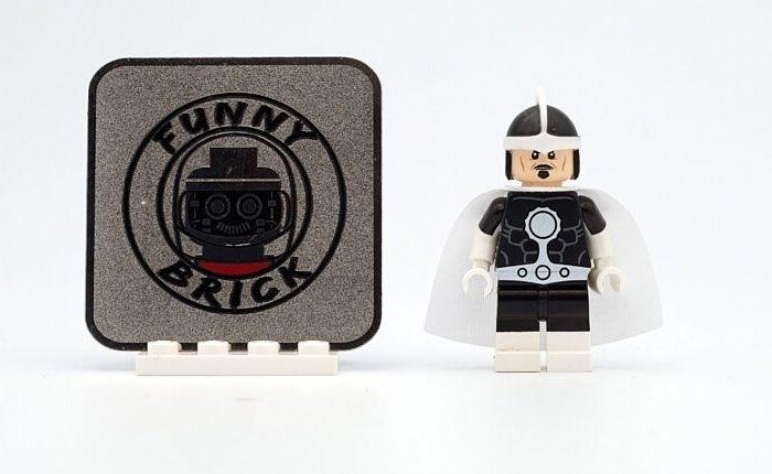 Dr Light Funny Brick Custom Minifigure