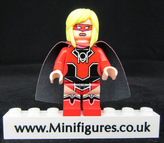 Furious Lass Custom Minifigure