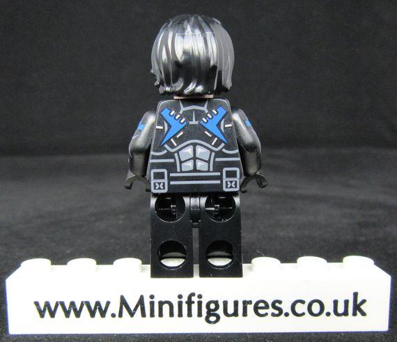 Nightwing Dragon Brick Custom Minifigure