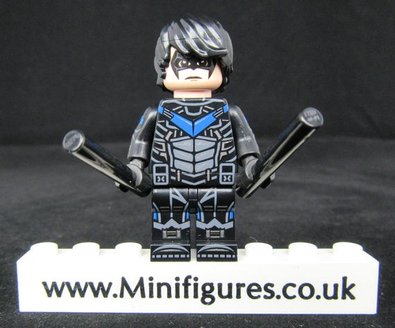 Nightwing Dragon Brick Custom Minifigure