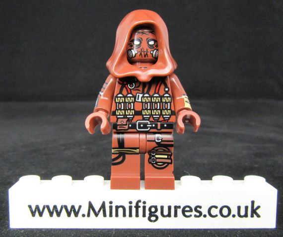Scarecrow Dragon Brick Custom Minifigure