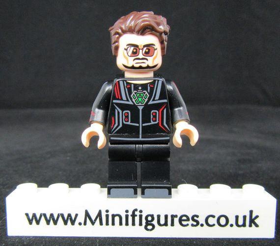 Tony Stark Dragon Brick Custom Minifigure