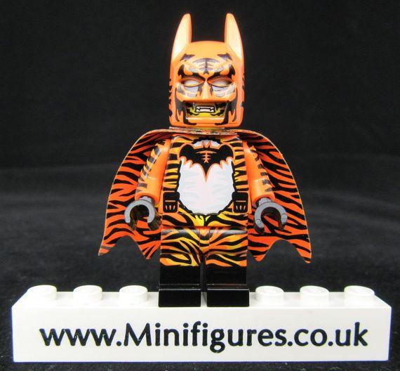 Batman Roar Dragon Brick Custom Minifigure