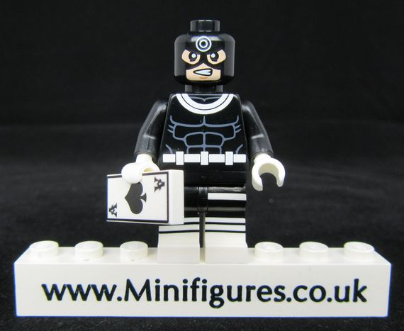 Bullseye Crystal Minifigs Custom Minifigure