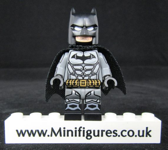 Arkham Batman 2 Dragon Brick Custom Minifigure