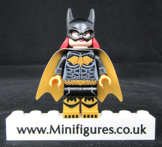 Batgirl Dragon Brick Custom Minifigure