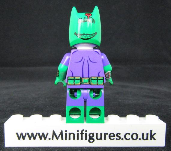 Batman Joker Dragon Brick Custom Minifigure