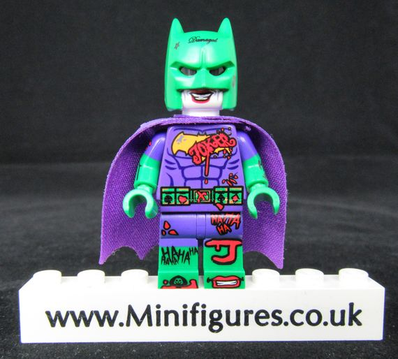 Batman Joker Dragon Brick Custom Minifigure
