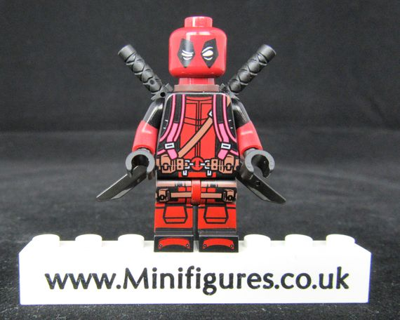 Deadpool KT Dragon Brick Custom Minifigure