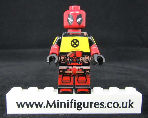 Deadpool X-Force Dragon Brick Custom Minifigure