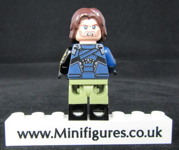 Infinity Winter Soldier Dragon Brick Custom Minifigure