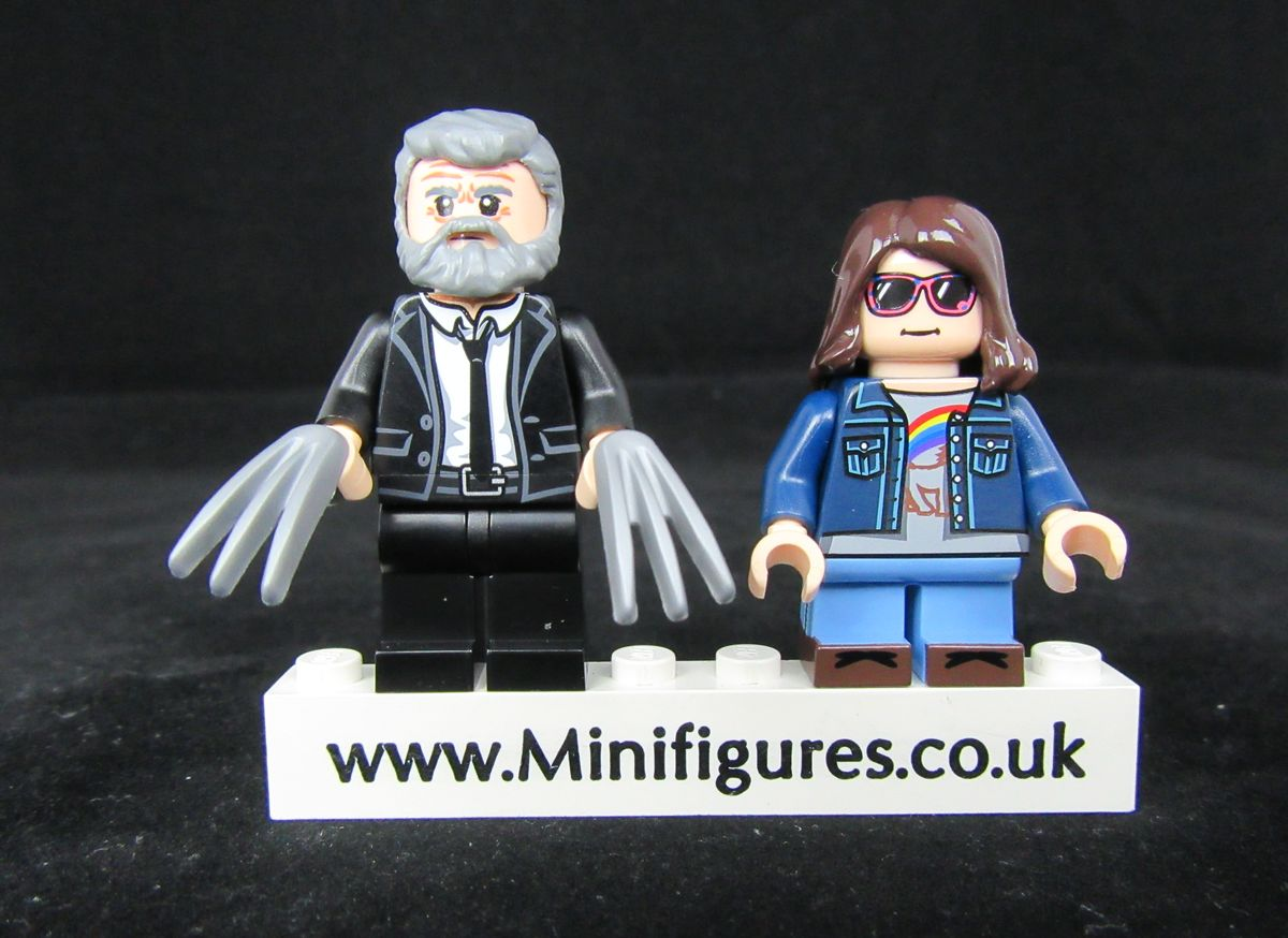 Wolverine & X-23 Dragon Brick Custom Minifigure