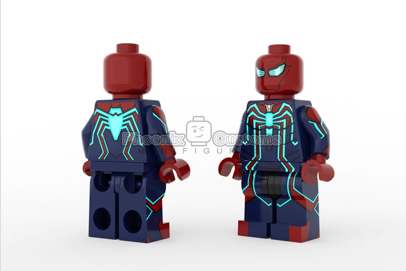 Accelerated Arachnid Custom Minifigure