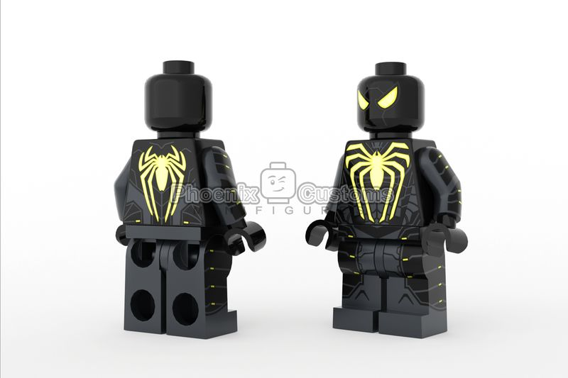 Black Arachnid Custom Minifigure