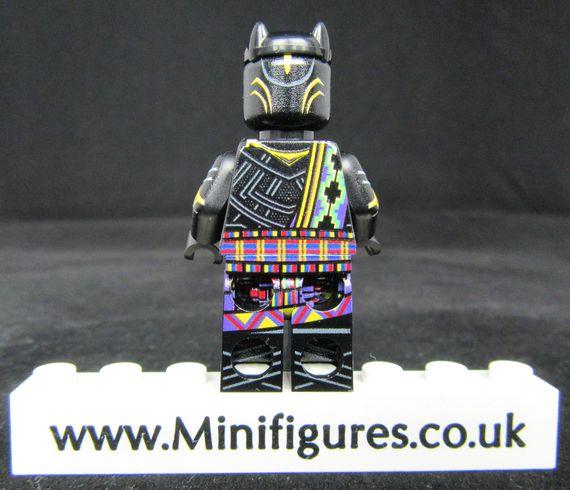 T'Chaka LeYiLeBrick Custom Minifigure