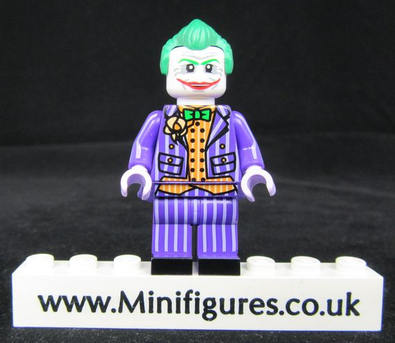 Arkham Joker Dragon Brick Custom Minifigure