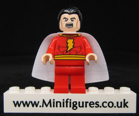 Billy Batson LeYiLeBrick Custom Minifigure