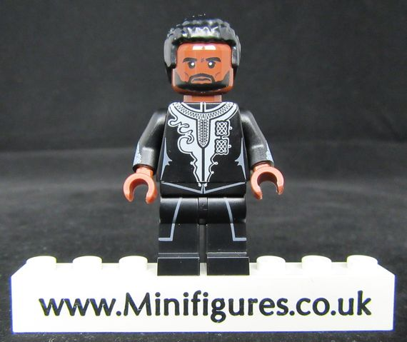 Black Panther Black Tuxedo Crystal Minifigs Custom Minifigure
