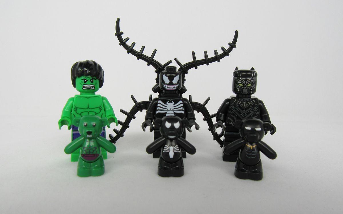Black Panther Bunka Bricks Bear