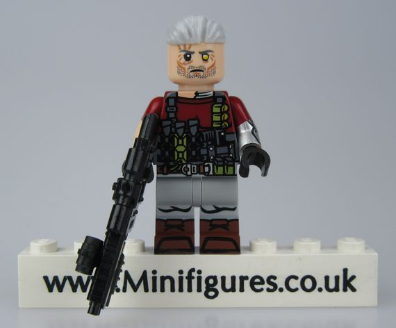 Cable Funny Brick Custom Minifigure