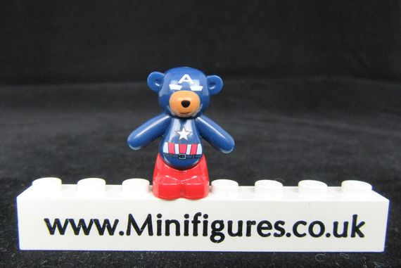 Captain America Bunka Bricks Bear