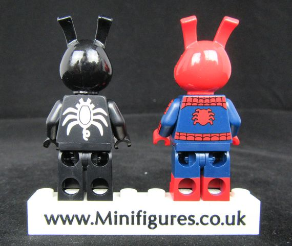 Dynamic Duo Diamond CustomBricks Custom Minifigures