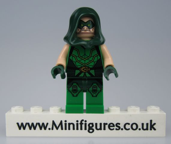 Green Arrow Pad LeYiLeBrick Custom Minifigure