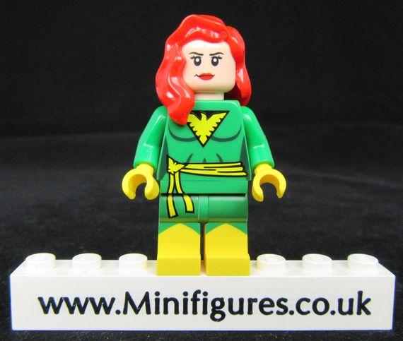 Jean Grey Phoenix LeYiLeBrick Custom Minifigure