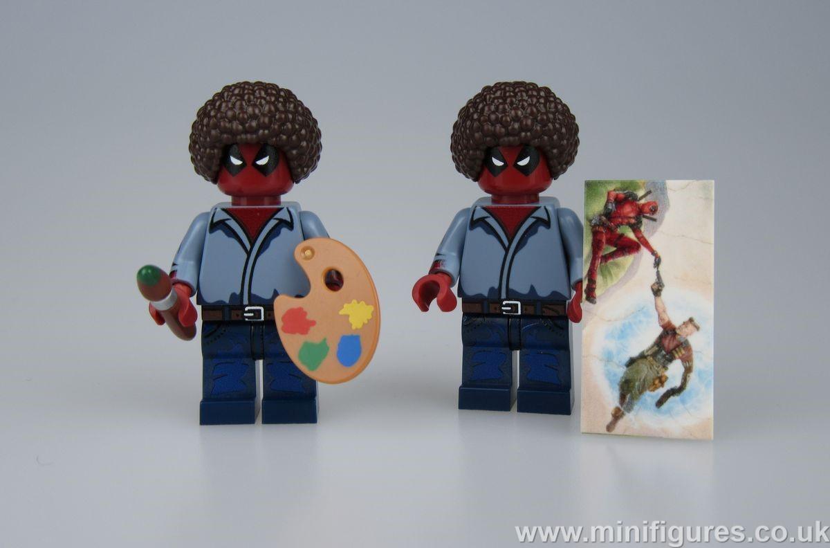 Painter Deadpool LeYiLeBrick Custom Minifigure