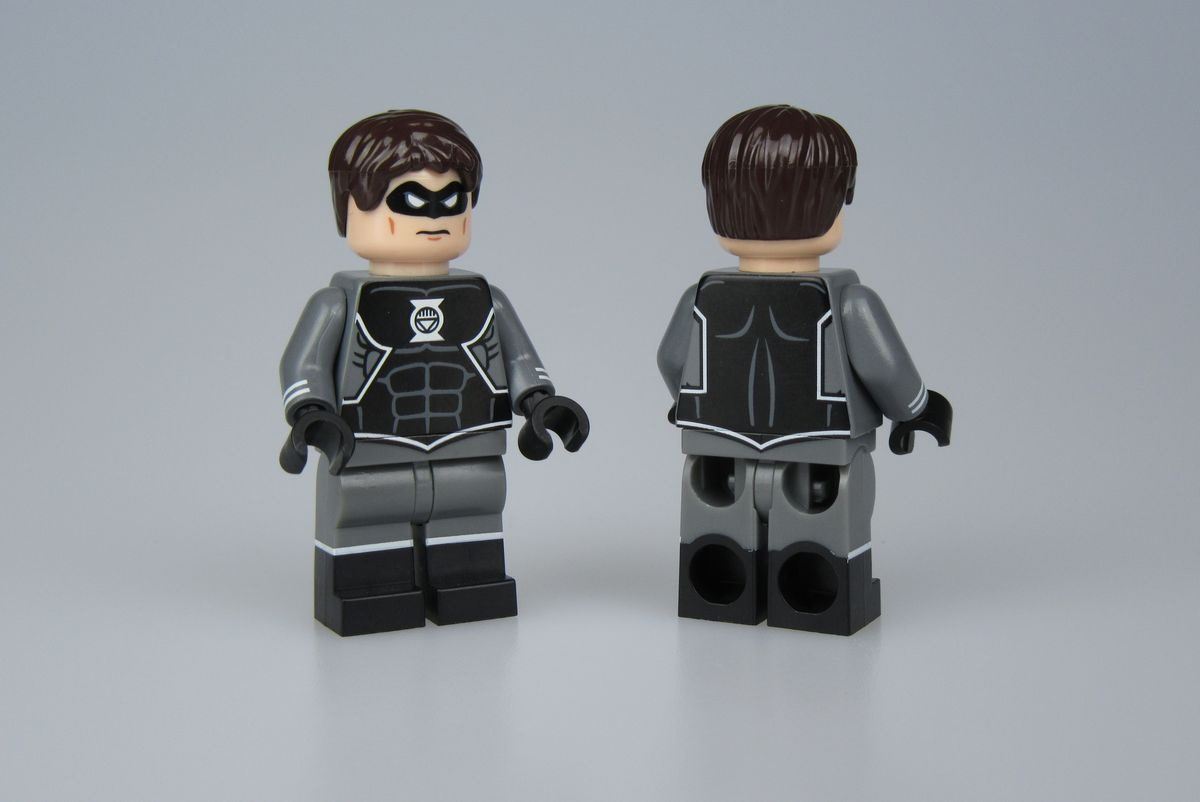 Black Lantern Hal Jordan Crystal Custom Minifigure