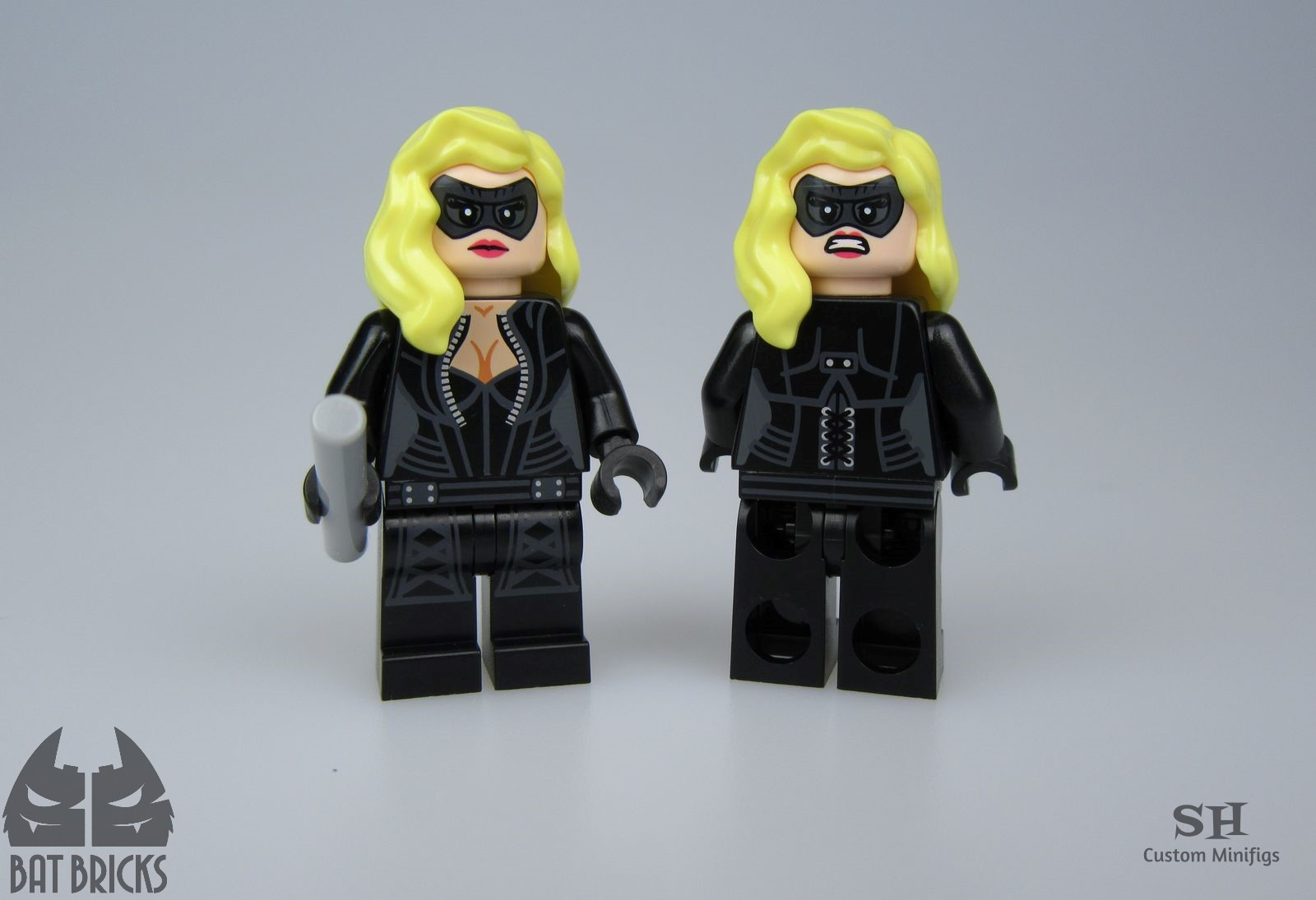 Blonde Vigilante V2 SH x BB Custom Minifigure