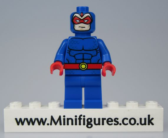 Blue Beetle LeYiLeBrick Custom Minifigure