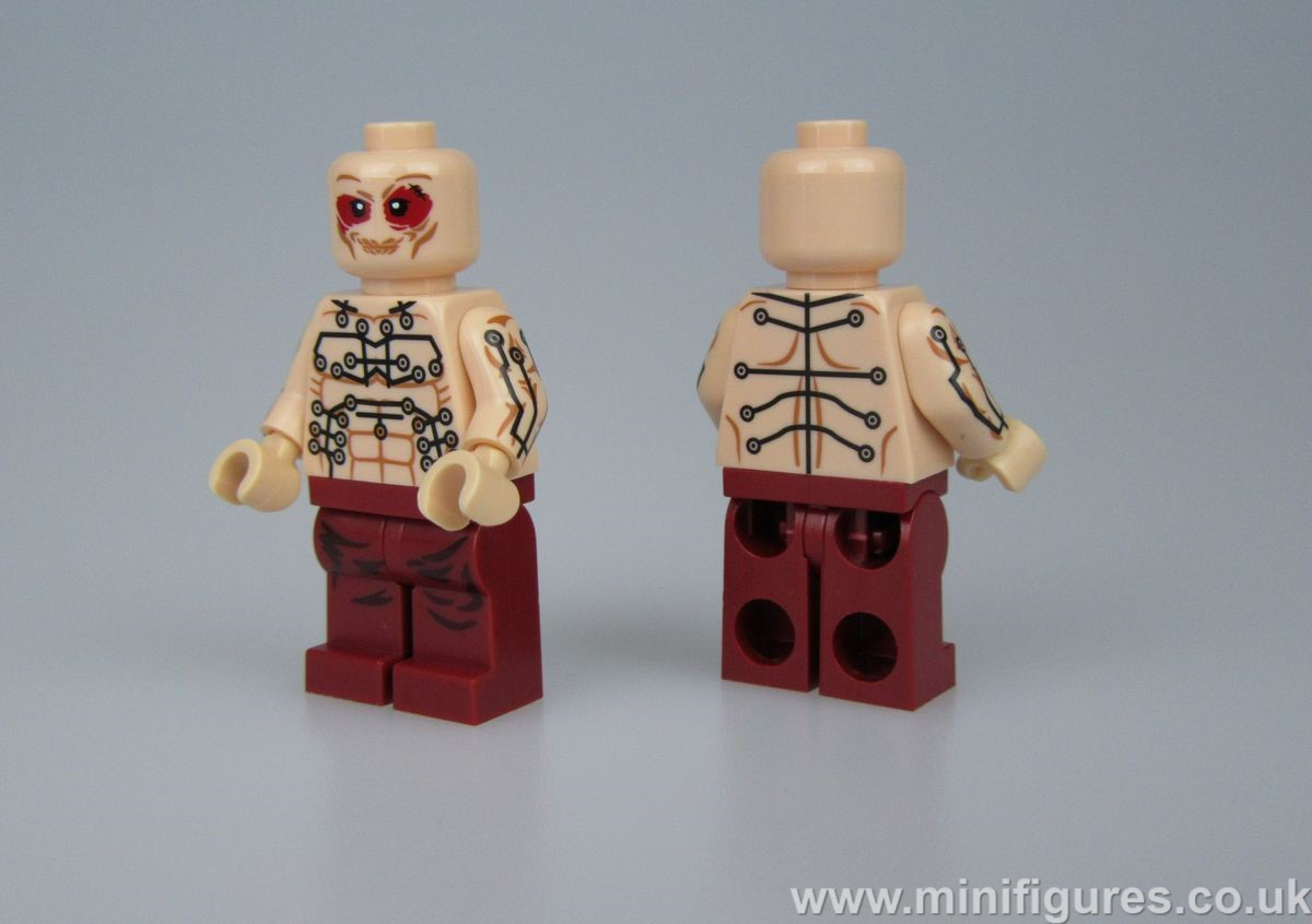 Deadpool Movie Dragon Brick Custom Minifigure