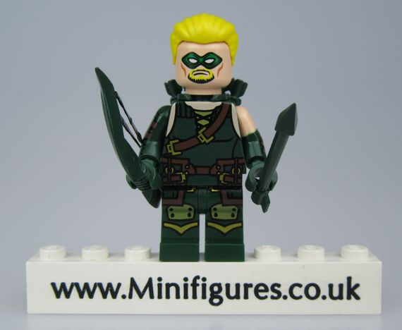 Green Arrow Crystal Minifigs Custom Minifigure