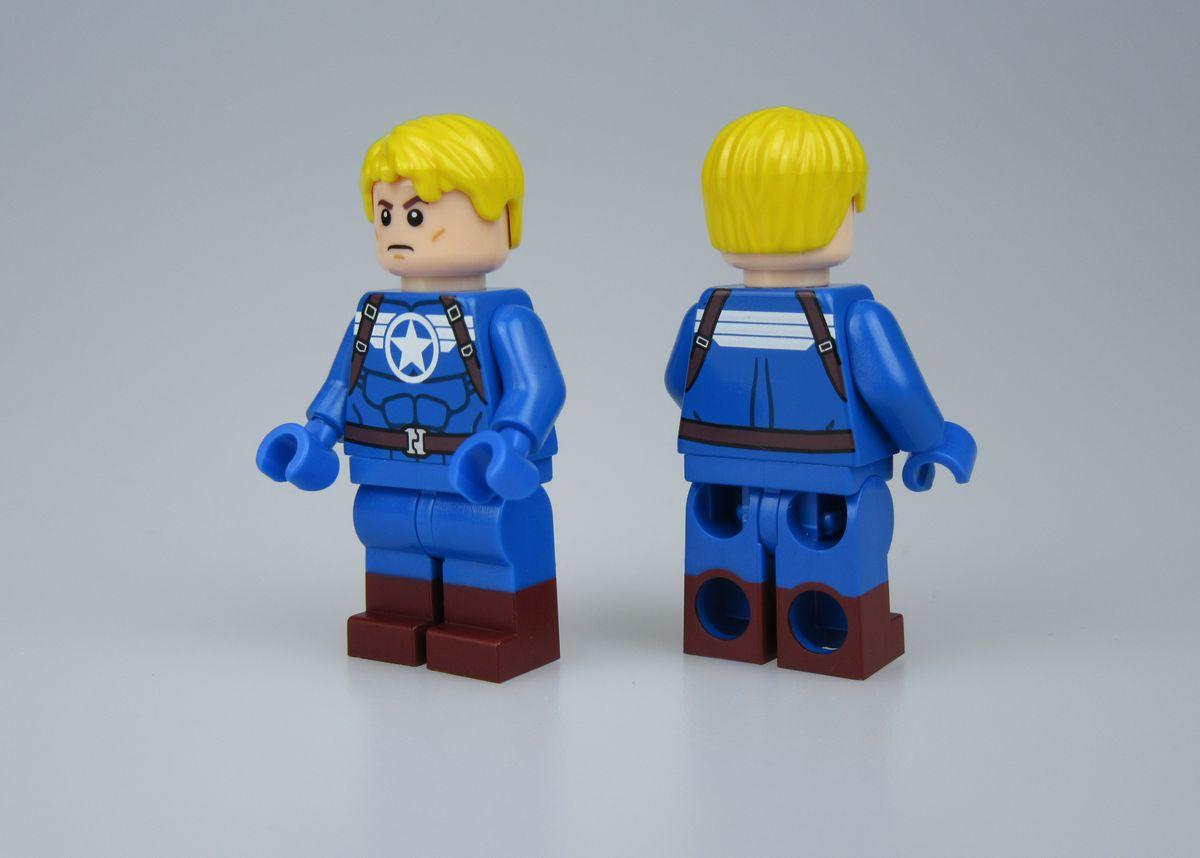 Heroic Patriot BrothersFigure Custom Minifigure