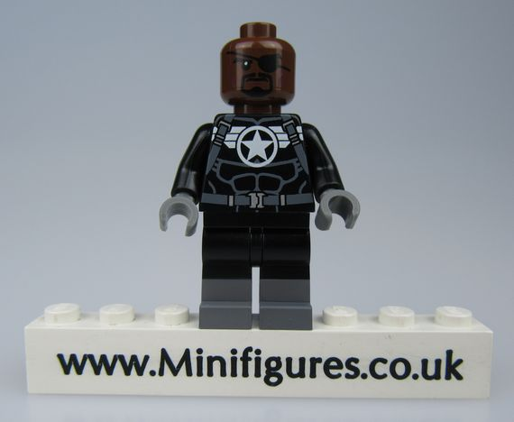 Strategic Commander BrothersFigure Custom Minifigure