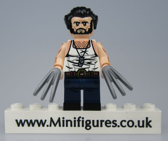 Wolverine Dragon Brick Custom Minifigure