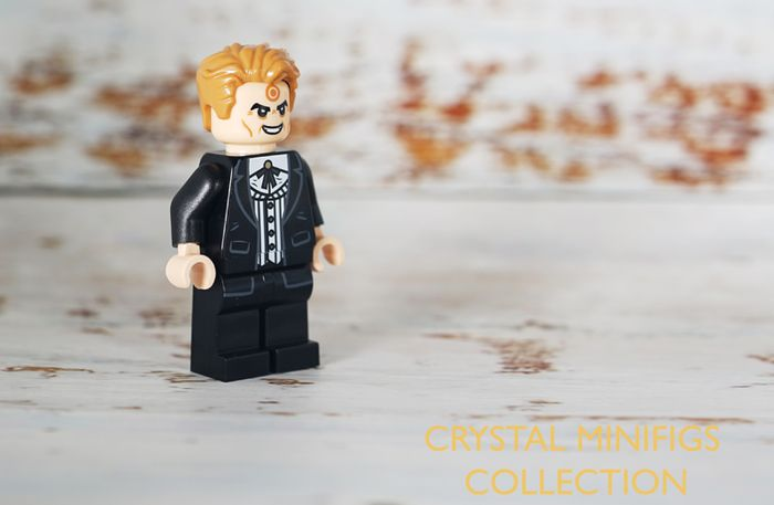 Bullseye Crystal Collecton Custom Minifigure