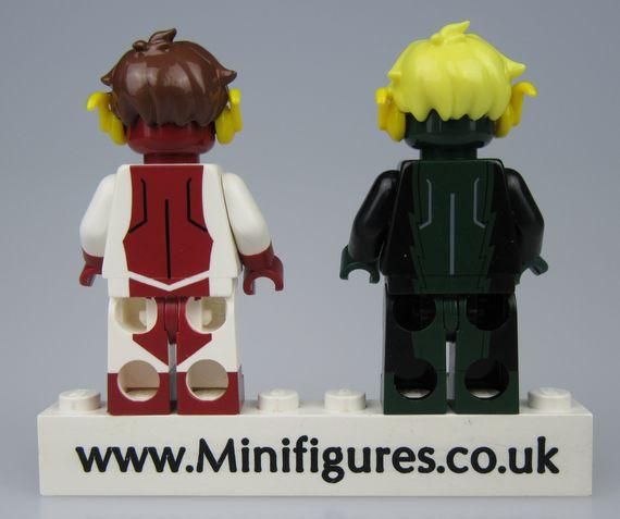 Integrity & Devious DCB Custom Minifigures