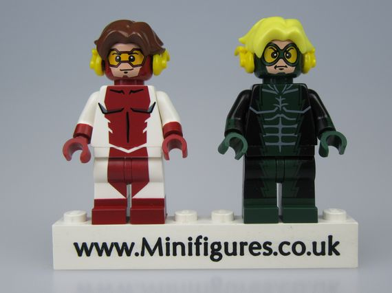 Integrity & Devious DCB Custom Minifigures