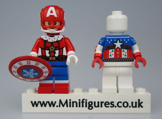 Santa Patriot BrothersFigure Custom Minifigure