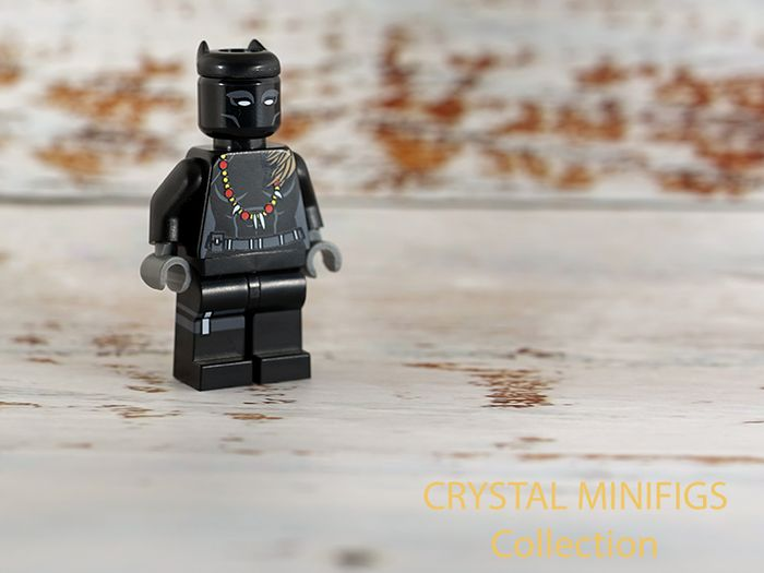 Shuri Black Panther Crystal Collecton Custom Minifigure